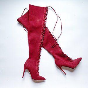Aldo Kianiel Over the Knee Heel Boots